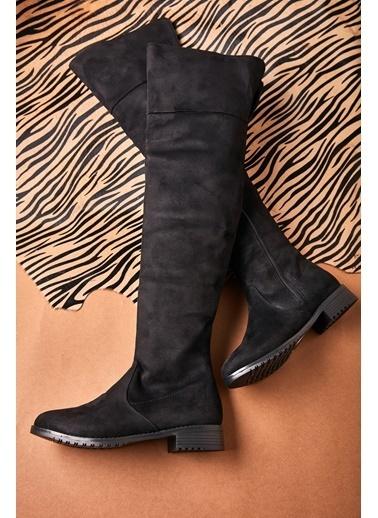 Bambi Çizme Siyah